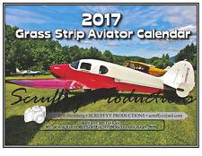 Grass Strip Aviator Calendar 2017