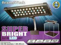 Beamswork Super Bright Clip hang on nano aquarium LED light 110V 240V 10000k
