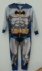 Boys BATMAN sleepsuit, pyjamas, all in one 3-4yrs New with Tags