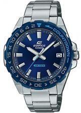 Casio Edifice EFV-120DB-2AVUEF Racing Blue Watch 100m W/R RRP £99.00 UK Stockist
