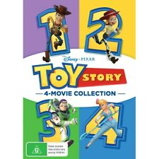 Toy Story: 1 2 3 4 (1-4) Complete Series Bundled Set New Sealed
