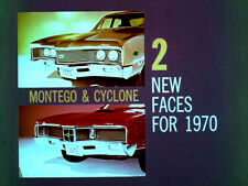 1970 Mercury Montego - 2 Faces for 1970 Factory To Dealer Film CD MP4 Format