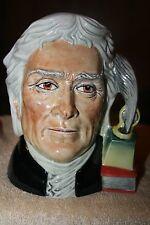 Mint Royal Doulton Character Mug, Thomas Jefferson Pascoe & Company Peggy Davies