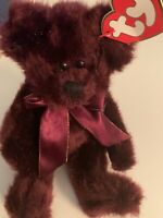 """TY Beanie Babies The Attic Treasures Collection """"Beargundy"""" 1993"""