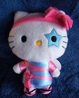 *1822a*  Hello Kitty doll with wings & blue star on one eye - 15cm - plush