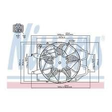 Fits Ford Focus MK1 1.4 16V Genuine Nissens Engine Cooling Radiator Fan