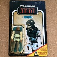 Star Wars Nikto Jedi Figure New Package Rare Canada Version Canadian 1983 Kenner