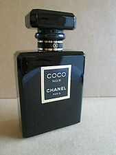"CHANEL COCO NOIR EAU DE TOILETTE 3 5/8"" FACTICE DUMMY DISPLAY BOTTLE 50ML 1.7OZ"