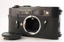 【 Haut Mint 】 Leica M5 50th 50 Ans Commémoration Télémètre Film Photo Noir Japon