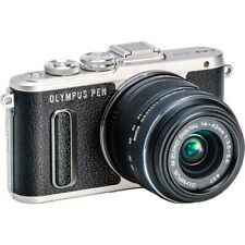 Olympus PEN E-PL8 Mirrorless Camera in Black with 14-42mm R Lens