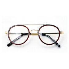 Nerd Brille filigran rund Glasses Klarglas Hornbrille treber 81R73 BRW findhoon