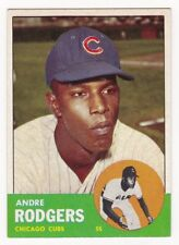 ANDRE RODGERS 1963 Topps Baseball  # 193 Chicago Cubs Ex Plus