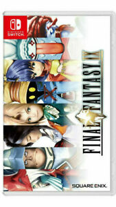 Final Fantasy IX Nintendo Switch Game imported english cover IN STOCK