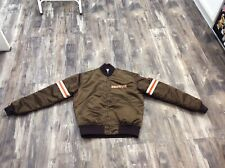 VINTAGE 1980's NFL Starter Cleveland Browns Nylon Satin Jacket Sz Medium