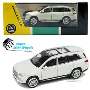 PARA64 - Mercedes-Maybach GLS 600 White - LHD - 1:64