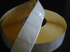 1,000 Checkpoint® Compatible 8.2 Rf 4x4cm size Label, Plain White, 1 Roll