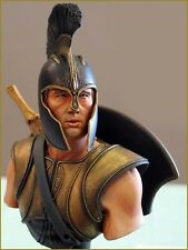 1/10 Scale Unpainted Resin Bust Troy Achilles Free Shipping. US Seller !!