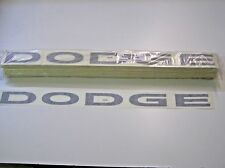 10 DODGE 2.25x32 COT LATE 10 REAR DECAL B/W AUTHENTIC NASCAR RACE CAR 082015-19