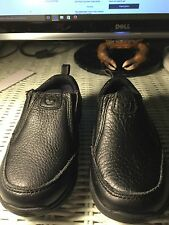Shoes, Kids, Timberland Earthkeepers, black leather, SZ 8M slip ons Rubber soles