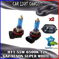 ampoule xenon H11 de voiture 55 w 12 v SUPER WHITE pour phare blanc optique X 2