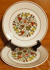"Corning Corelle INDIAN SUMMER Salad plate set of 2, 8 1/2"", Floral"