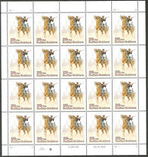 2818 Buffalo Soldiers Pand of 20 P# 22222 Mint Nh Unfolded