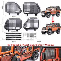DJ Metal Guard Türfenster für TRAXXAS TRX4 Land Rover Defender D90 D110 RC4WD