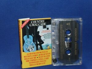 COUNTRY CAVALCADE - RARE CASSETTE TAPE NM