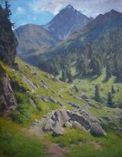 G. H. Engelhardt * 1855 óleo ALT Antik impresionismo romance paisaje