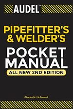 Audel Pipefitter's and Welder's Pocket Manual New Paperback Book Charles N. McCo