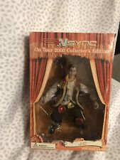 Nsync J.C. Marionnette Figure Puppet on Tour 2000 Collector's Edition New