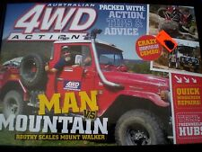 Aust 4WD ACTION # 143 MAN v MOUNTAIN, ROOTHY  VGC - DVD Adventure R4 Aust
