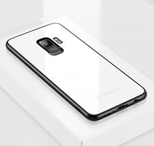 For Samsung Galaxy S8 S9 Hybrid 360 New Shockproof Case Tempered GLASS Cover