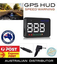 2018 A5 UNIVERSAL GPS HEADS UP DISPLAY HUD DIGITAL CAR SPEED WARNING Plug Play A