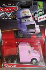 "DISNEY PIXAR CARS ""VINYL TOUPEE CAB"" DELUXE MODEL, SHIP WORLDWIDE"