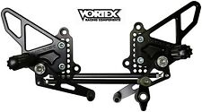 VORTEX Rearsets - Ducati  848  1098  1198  Rear Sets / Pegs - RS198K