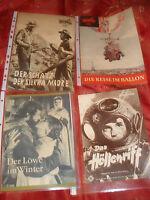 FILM  PROGRAMME LÖWE IM WINTER HÖLLENRIFF REISE IM BALLON SCHATZ D.SIERRA MADRE!