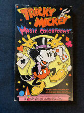 Vintage 1973 Tricky Mickey Magic Colorforms / MICKEY MOUSE DISNEY Playset