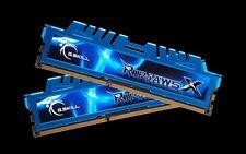 G.skill DDR3-2400 16GB(2x8GB) Dual Channel [Ripjaws X] Desktop F3-2400C11D-16GXM