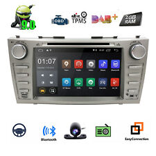 """4Core Android 9.0 8"""" Car DVD Player Radio Stereo GPS Wifi forToyota Camry Aurion"""