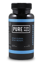 Pure for Men - the Original Vegan Cleanliness Fiber Supplement - Proven New