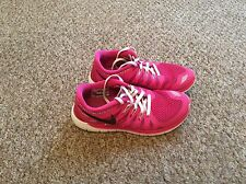 Nike Free 5.0 Pink Running Trainers Women's - Size UK 3