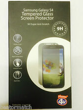Genuine Premium 9H Tempered Glass Screen Protector iPhone 5S Samsung Galaxy S5
