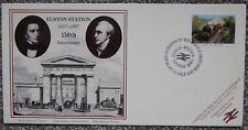 150 Anniversary Euston Station London Royal Scot Postal Commemorative Cover 1987