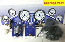 VDO 12v marine SPEED BOAT full WHITE GAUGE + SENDER KIT brand new..!