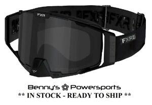 FXR Pilot Goggle CLEARIDIUM Anti-Fog Lens Snowmobile Spare Dual Clear Lens