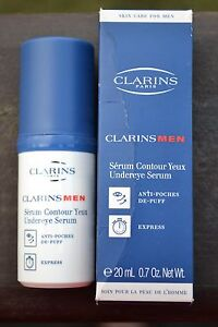 Clarins Men Undereye Serum BNIB 20ml/0.7fl.oz. ---Made in FRANCE---