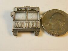 CAPITAL METRO WAY TO GO BUS PIN