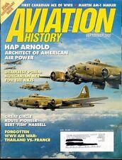 AVIATION HISTORY SEP 00 WW2 HUNGARIAN BF-109 ACE / MARTIN AM-1 MAULER / CANADIAN