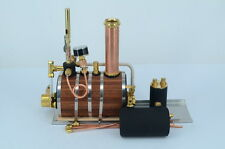Horizontal Dampfkesselmodelle Dampf-Maschine mit Dampfpfeife